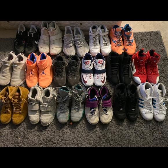 Nike Adidas Air Jordan Size 3 Shoes
